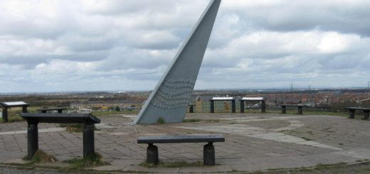 The Sundial, West Allotment Country Park