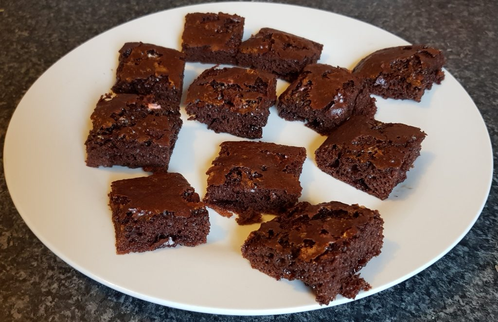 Slimming World Toffee Marshmallow Brownies 15 Syns